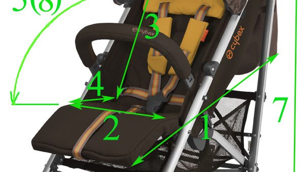 Ширина детской коляски – Размеры колясок для новорожденных с люлькой — запись пользователя Татьяна (id1292705) в дневнике