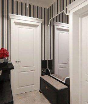 Шкаф для маленькой прихожей – дизайн 2018 в малогабаритной квартире, реальные примеры интерьера коридора маленьких размеров, идеи оформления в современном стиле