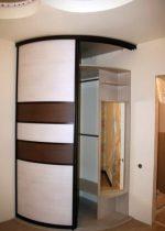 Шкаф купе радиальный в прихожую – Радиусный шкаф-купе в прихожую (50 фото): полукруглые закругленные радиальные модели