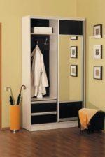 Шкаф купе угловой в маленькую прихожую фото – малогабаритные варианты в длинный узкий коридор, идеи дизайна, вместительные модели с зеркалом и с закругленным углом