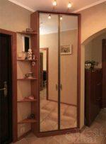 Шкаф угловой в интерьере фото – в комнату, полукруглый, дизайн, наполнение, готовые зеркальные гардеробные