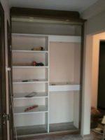 Шкаф в нишу своими руками – Встроенный шкаф своими руками. Как сделать встроенный шкаф-купе своими руками: поэтапные фото