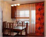 Шторы на пластиковые окна на кухню фото – кухонные большие занавески, было не занавешено, как занавесить, без штор, для пластикового окна, видео
