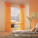 Шторы оранжевые на кухне фото – фото в интерьере, кухня с белым и коричневым, дизайн стен, какие шторы подойдут в гостиную