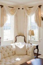 Шторы в гостиной с двумя окнами – шторы в зал и гостиную, дизайн занавесок на кухню-столовую, студию и спальню, модели на два окна в одной комнате