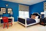 Синяя спальня фото – дизайн интерьера в темно-синих тонах, в бело-синем, сине-золотом и голубом цвете, значение цвета