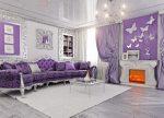 Сиреневый в интерьере – Фиолетовый цвет в интерьере квартиры (23 фото), оформление интерьера в фиолетовом цвете