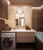 Совмещение туалета и ванны – планировка и дизайн, идеи для маленькой душевой, санузел площадью 6 кв. м, примеры эргономики