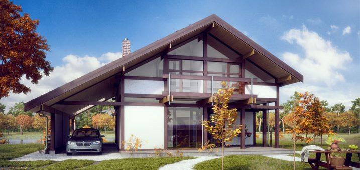 Современные красивые дома фото