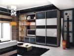 Современные шкафы купе в гостиную – современные подвесные шкафы для одежды в гостиную и зал, интересные идеи и дизайн с печатью