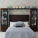 Спальня 3 на 4 дизайн фото – дизайн и фото, 4 кв. метра, 1 комната, гостиная в доме, зона кровати, мебель и окна, проект и обои