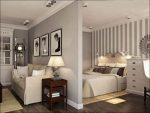 Спальня и гостиная зонирование – зонирование перегородкой или шторами, ФОТО зонирования гостиной и спальни или кабинета, кухни, гардеробной, детской
