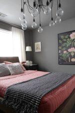 Спальня серая дизайн – дизайн интерьера в серо-белых, серо-коричневых, серо-сиреневых и серо-черных оттенках, сочетание с синим и желтым цветом