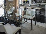 Столы стеклянные на кухню фото – Дизайн кухни со стеклянным столом – конструктивные особенности обеденных групп