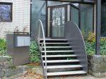 Ступенька на крыльцо – ступеньки для частного кирпичного дома, наружные лестницы для загородного коттеджа, уличные ступени