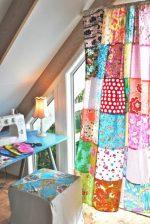 Своими руками шторы пэчворк – стиль в интерьере, для ванной шторы, лоскутные изделия своими руками