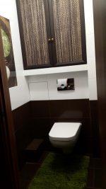 Туалет дизайн фото с водонагревателем – Фотоотчет о ремонте туалета в новостройке с бойлером, шкафом и инсталляцией (30 фото)
