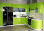 Угловые салатовые кухни – Салатовые угловые кухни — фото, цены, купить угловую салатовую кухню на заказ в Москве