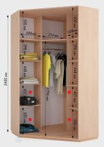 Угловые шкафы в