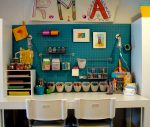 Уголок в детской комнате для творчества – kresla-krovati-dlya-detei — запись пользователя Оля (Магазинчик праздника) (Satin13) в сообществе Дизайн интерьера в категории Интерьерное решение детской комнаты