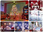 Украшение комнаты своими руками из бумаги – Как украсить дом или комнату на Новый год-2017 своими руками. Делаем украшения на год Петуха из бумаги или подручных материалов