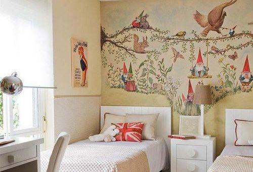 Украсить стену в детской своими руками – своими руками рисунки, что нарисовать и как в комнате, картины, оформление в интерьере, идеи и эскизы