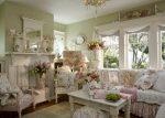 В гостиной прованс – дизайн интерьера маленького зала, оформление с элементами «классики», современные примеры ремонта