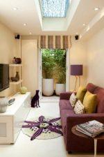 В интерьере гостиная – дизайн зала в квартире в стиле «минимализм» и «модерн», красивые фрески в интерьере комнаты