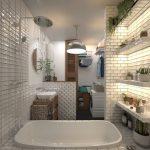 Ванна в скандинавском стиле идеи – Интерьеры ванных комнат в Скандинавском стиле — Дизайн интерьера ванной — MyHome.ru