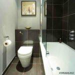 Ванная комната 2 на 2 дизайн
