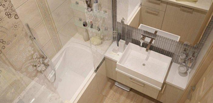 Ванная комната маленькая ремонт