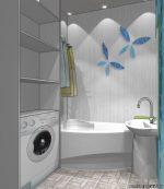 Ванная комната с туалетом дизайн фото 5 кв м со стиральной машиной – Дизайн маленькой ванной комнаты — 70 фото интерьеров, идеи для ремонта