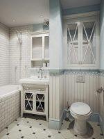 Ванная в стиле прованс фото – Дизайн интерьера ванной комнаты в стиле прованс в маленькой квартире: советы и фото