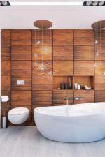 Ванны дизайн под дерево – с чем сочетать настенные керамические «деревянные» покрытия на стенах, дизайн кафеля