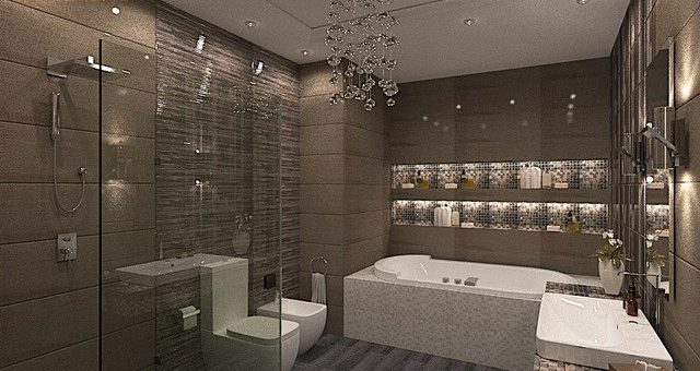 Ванны дизайнер – Дизайн ванной в современном стиле. Лаконичный дизайн ванной комнаты в Киеве
