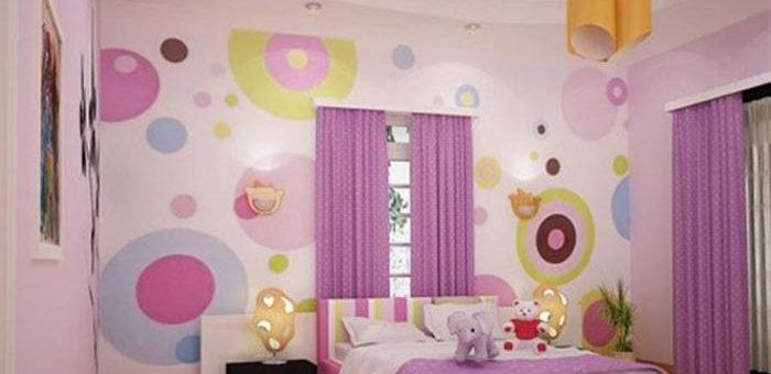 Варианты оформления детской комнаты для девочки
