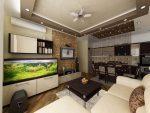 Варианты зонирования кухни гостиной – дизайн и фото, как разделить зоны пространства, спальня и комната отдыха, варианты