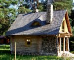 Загородные дома фото деревянные – видео-инструкция по строительству своими руками, проекты недорогих домиков, фото