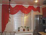 Занавески кухонные своими руками – пошаговая инструкция с готовыми выкройками, советы по выбору фасона, ткани, стиля кухонных занавесок