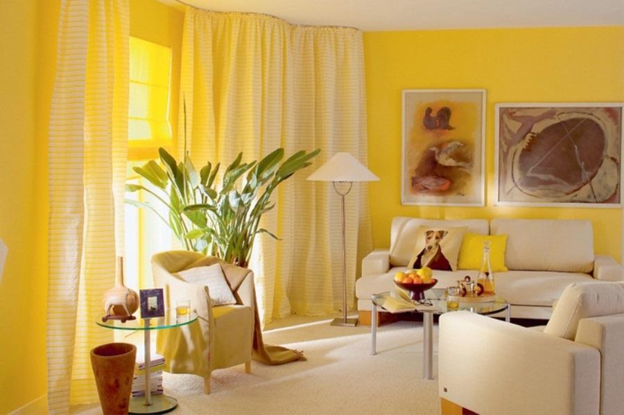 молодых желтая гостиная в картинках металла надежнее, деревянные